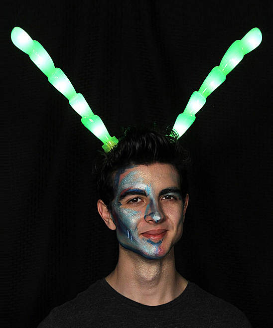 Green Light-Up Insect Antennae