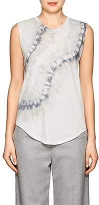 Raquel Allegra Women's Tie-Dyed Cotton-Blend Muscle T-Shirt