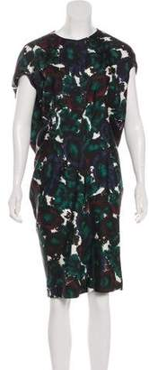 Balenciaga Printed Short Sleeve Dress