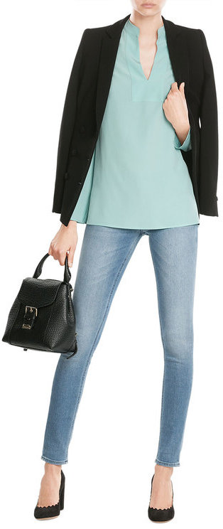 EtroEtro Silk Tunic Blouse