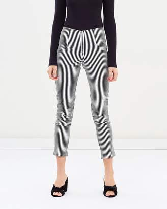 Almeria Fitted Stripe Pants