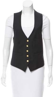 Boy By Band Of Outsiders Button-Up Wool Vest