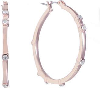 Gloria Vanderbilt 35.5mm Hoop Earrings
