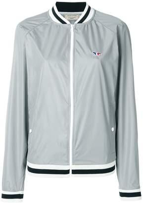 MAISON KITSUNÉ raglan sleeve baseball jacket