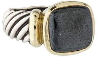 David Yurman Hematite Noblesse Ring