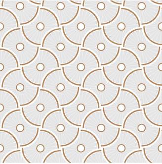 Novogratz for Tempaper Wheels Self-Adhesive Wallpaper