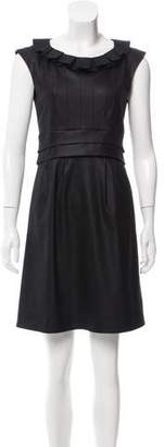 Marc by Marc Jacobs Pleated Wool Dress