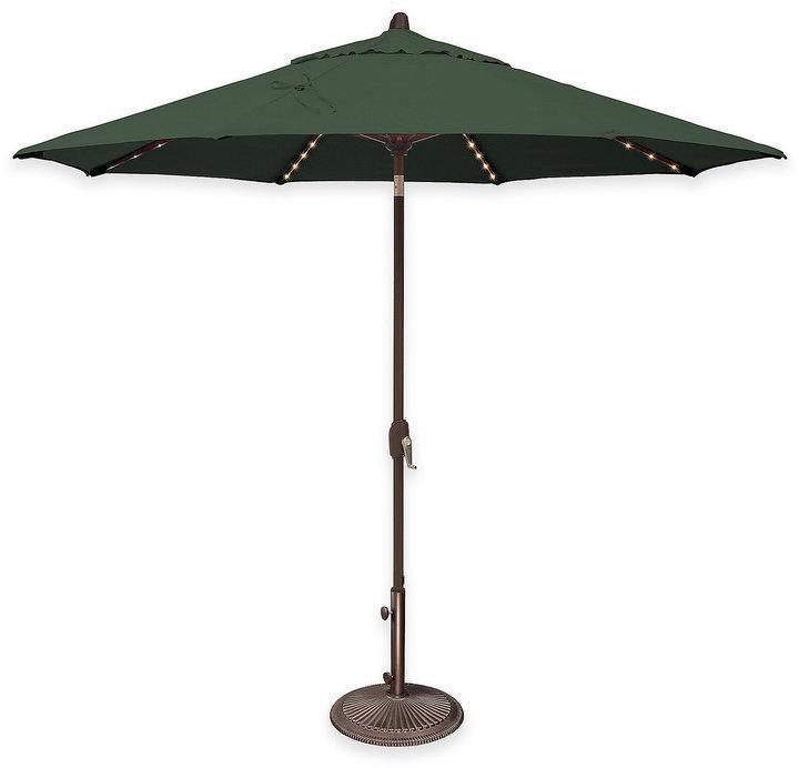 SimplyShade Lanai Pro 9-Foot Octagon Auto-Tilt Market Umbrella in Sunbrella® Fabric