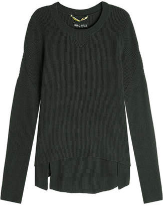 81 Hours Superfine Wool Ribbed Pullover