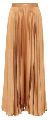 The Row Vailen satin maxi skirt
