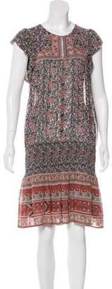 Ulla Johnson Silk Printed Dress