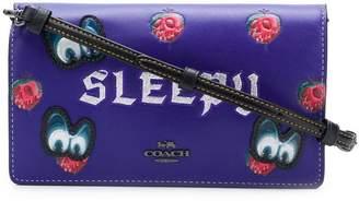 Coach X Disney Sleepy foldover clutch