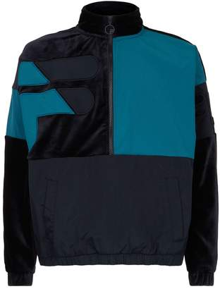 Fila Velour Half Zip Track Jacket