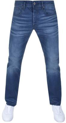 G Star Raw 3301 Straight Jeans Blue
