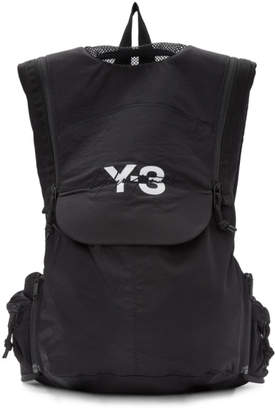 Y-3 Y 3 Black Running Backpack