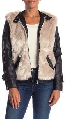 Fate Faux Fur Detail Jacket