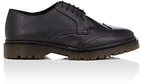 RED Valentino WOMEN'S LEATHER WINGTIP OXFORDS-BLACK SIZE 5