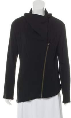 Helmut Lang Asymmetrical Cowl Jacket