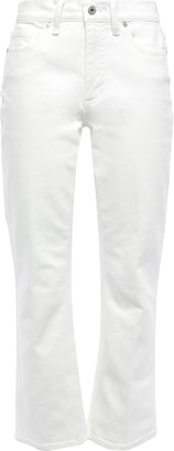 Vince High-rise Kick-flare Jeans