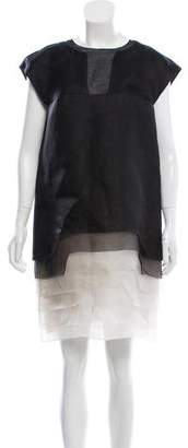 Fendi Silk Ombré Dress w/ Tags