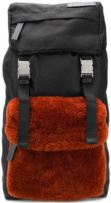 Marni colour block backpack