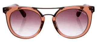 Henri Bendel Broadway Round Sunglasses