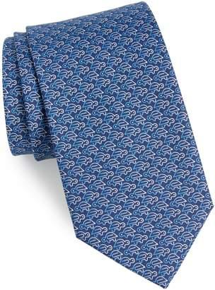 Salvatore Ferragamo Turtle Silk Tie
