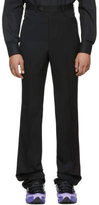 John Lawrence Sullivan Johnlawrencesullivan Black Slim Cut Trousers