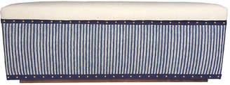 Kim Salmela Camden Stripe Bench - Indigo