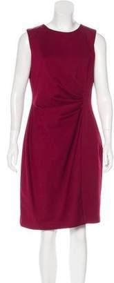T Tahari Wool-Blend Dress