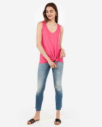 Express Tie Front Easy Tank