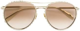 Alexander McQueen Eyewear crystal embellished sunglasses