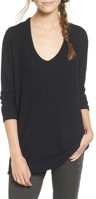 Women's Bp. V-Neck Long Sleeve Sweater $39 thestylecure.com