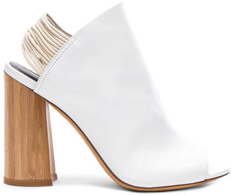 3.1 Phillip Lim Leather Drum Glove Slingback Heels