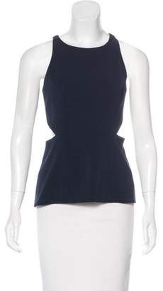 Jay Godfrey Sleeveless Cut-Out Top w/ Tags
