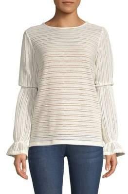 MICHAEL Michael Kors Flare-Sleeve Knit Top