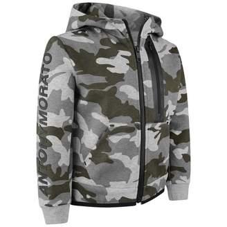 Antony Morato Antony MoratoGrey Camouflage Zip Up Top