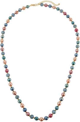 Emily and Ashley Greenbeads By Shiny Single-Strand Long Necklace