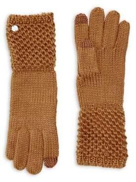 Lauren Ralph Lauren Ribbed Knit Gloves
