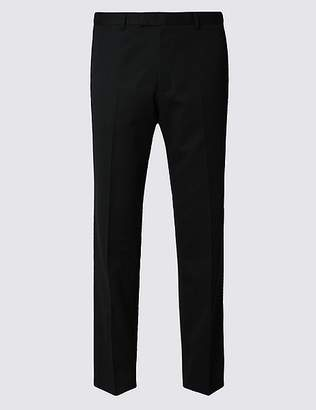 Marks and Spencer Black Slim Fit Trousers