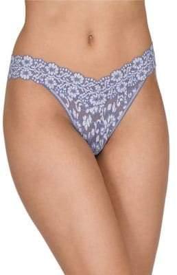 Hanky Panky Cross Dye Orignial Lace Thong
