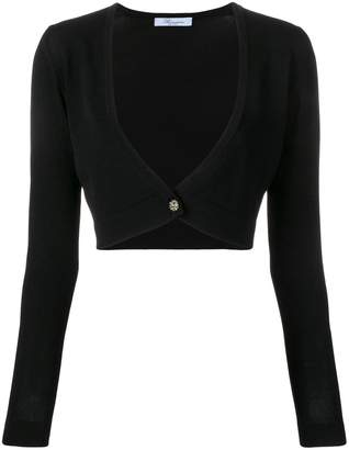 0af13096d99 Black Cropped Cardigan - ShopStyle
