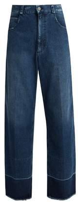 Rachel Comey Legion frayed-edge wide-leg jeans