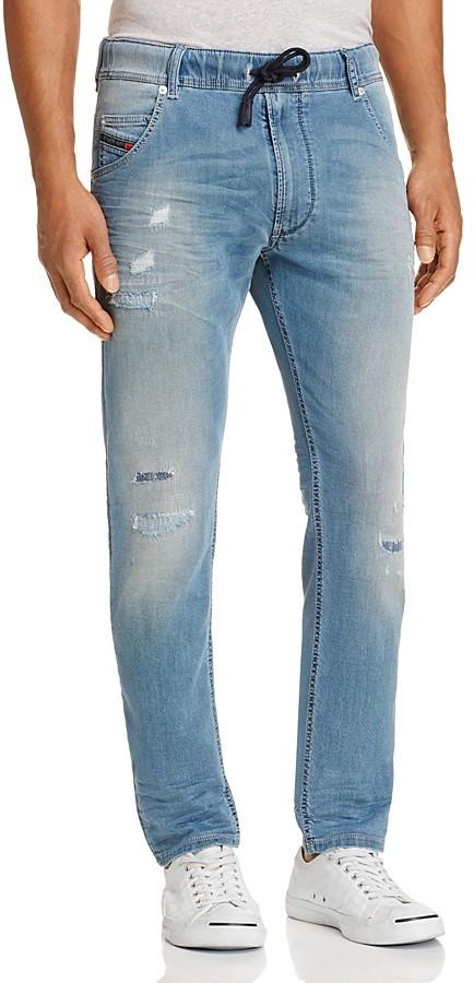 DieselDiesel Krooley-NE Slim Fit Jogger Jeans in Denim