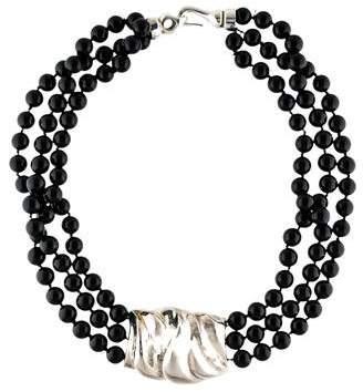 Patricia von Musulin Onyx Multistrand Necklace