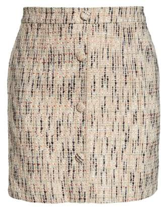 Gal Meets Glam Paige Tweed A-Line Skirt