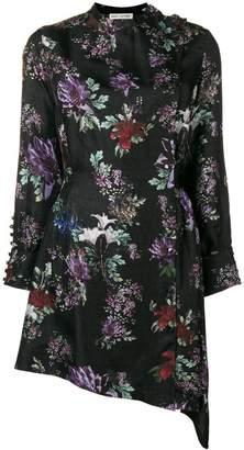 Each X Other Floral Printed Asymmetric Dress
