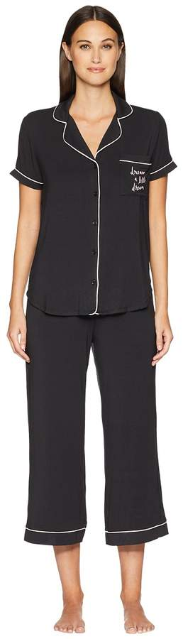 Kate Spade New York Dream a Little Dream Cropped Pajama Set