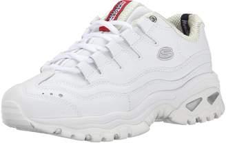 Skechers Sport Women's Energy Wide Sneaker,White/Millenium