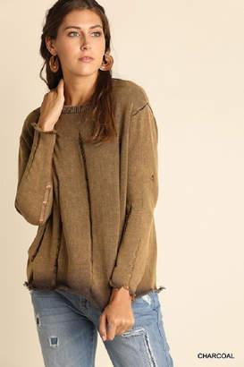 Umgee USA Ripped Sweater